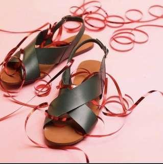 Annie and Lori Crostini Sandals