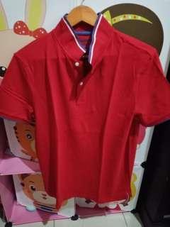 Giordano tshirt merah