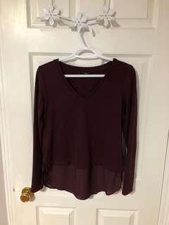 Maroon Dynamite Sweater