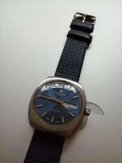 Vintage Favre Leuba Duomatic Swiss Watch