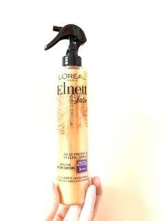 (全新)Loreal paris elnett satin heat protect spray