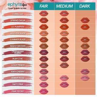 Color Lipmatte