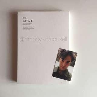 (WTS) EXO monster lucky one album suho photocard