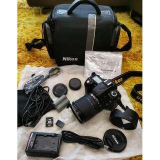 Nikon D90 complete set (almost new)