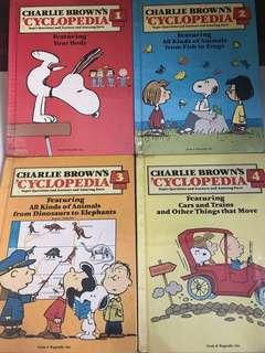 🚚 Charlie Brown encyclopedia set