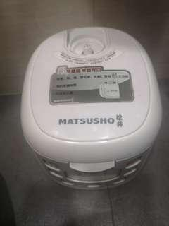 免費0.6L松井智能西施電飯煲Rice Cooker,適合1-3人家庭