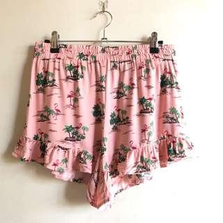 Forever 21 New with tag flamingo shorts
