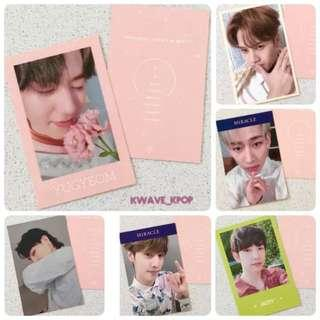 """GOT7 갓세븐 [Present: YOU & ME] """"Miracles In Dec"""" Off Photo Card -Select Member"""