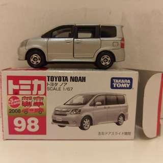 日版 Tomica 98 Toyota Noah