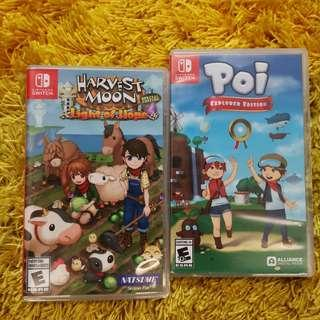 Nintendo Switch games for grabs