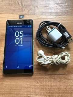 🚚 [售] Sony Xperia C4 16GB [價格]3000 [物品狀況]2手     [交易方式]面交自取 7-11或全家取貨付款 [交易地點]台南市東區     [備註]無盒裝/旅充/耳機/記憶卡4GB [匯款帳號]合作金庫[006]1232-872-051459