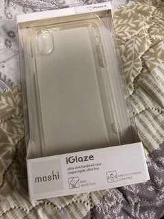 iGlaze iPhone X clear case