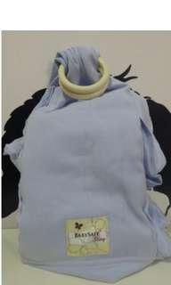 🚚 Baby Safe Baby Sling (Coral Blue)