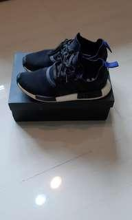 🚚 Nmd r1 black and blue