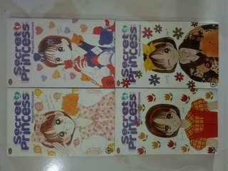 Secret princess 1-4