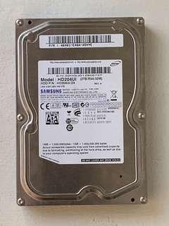 """Samsung 2TB 3.5"""" hard drive"""