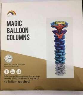 🎈 SPIDER MAN MAGIC BALLOON COLUMNS