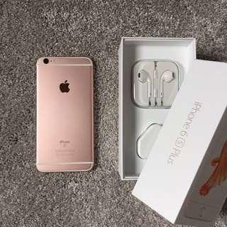 iPhone 6s Plus rosegold! Openline!