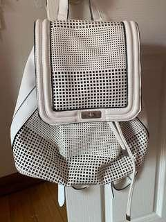 Tony Bianco white backpack