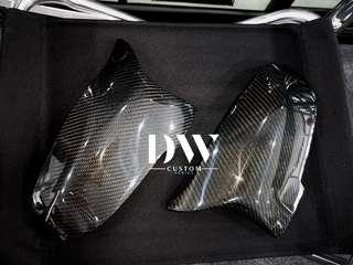 BMW F10 5 Series LCI Facelift model Custom made Carbon fiber side mirror cover