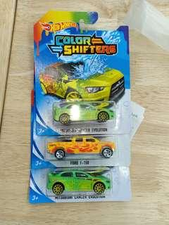 CPL - color shifters hotwheels