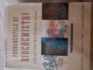 🚚 Fundamentals of Biochemistry by Voet