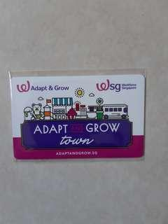 Limited edition Adapt and Grow Ez-link card