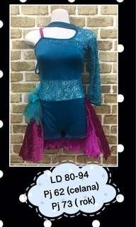 Dress/dance costume/kostum dansa