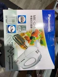 Panasonic 手提式打蛋器 MK-GH1 全新行貨 一年保養