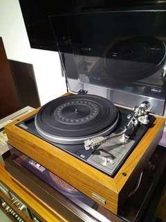 DIATONE PL-403TC 膠轆驅動黑膠唱盤