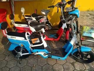 Sepeda Listrik Indobike-Cherry Bisa Tunai Maupun Kredit