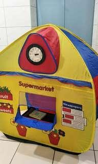 兒童雙面遊戲屋