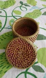 Rotan treasure box