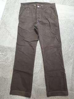 Men's Pants - Dark Brown