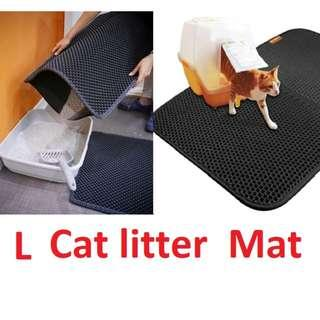 Cat Litter/Sand Trapping Mat for cat litter box/tray