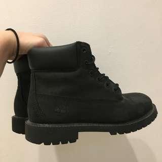 Timberland Premium Waterproof Black Boots