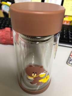 熊大line 玻璃瓶