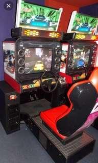 Wangan Midnight Maximum Tune 3 DX Plus TWIN arcade driving simulator machine