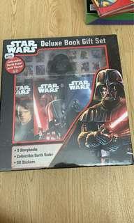 Starwars deluxe book gift set #books