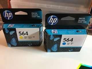 HP 564 打印機 墨水 彩色