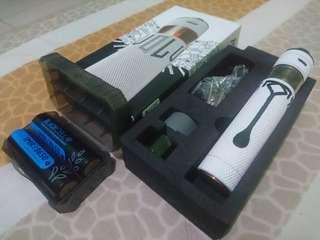 Vape Atom Revolver Reloaded RR2 Authentic Paketan