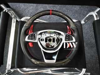 Custom Made Carbon fiber steering wheel for all Mercedes Benz model