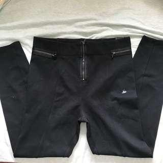 A&F Abercrombie and Fitch black leggings size M