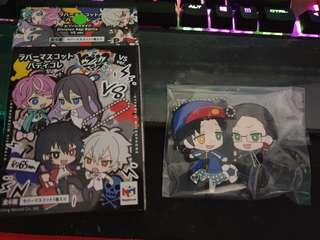 Hypnosis Mic Pair Rubber Keychains