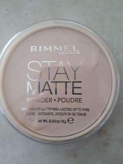 Rimmel Stay Matte Powder 011 Creammy Natural