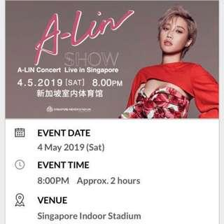 A-LIN concert Live in Singapore 2019