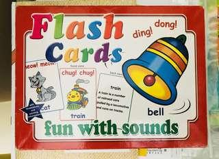 🚚 Flash cards - Fun with Sound