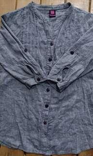 3/4 blouse  Small size by BNY Jeans