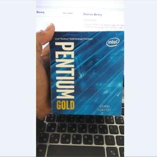 INTEL Pentium Gold G5400 3.7GHz 4MB Cache LGA1151 Coffee Lake