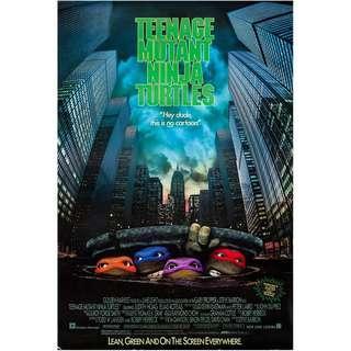 Teenage mutant ninja turtles movie posters